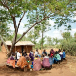 Mkonoo Women's Network hosting Terrawatu staff and People-to-People Safaris visitors