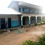 Completed school building
